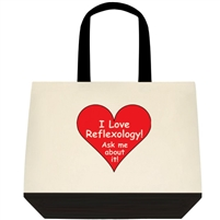 I Love Reflexology Tote Bag