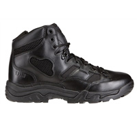 "5.11 Taclite 6"" Side Zip Black Tactical Boots"