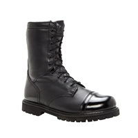 "Black Rocky 7"" Waterproof Zipper Paraboot"