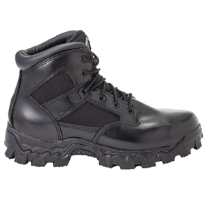 Black Rocky AlphaForce Waterproof Duty Boot