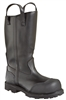 "Thorogood 14"" Structural Oblique Toe Black Bunker Boots"