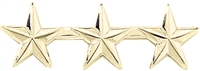 "Blackinton 3 Stars 1/2"" Pin"