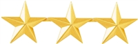 "Blackinton 3 Stars 1"" Pin"