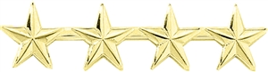 "Blackinton 4 Stars 1/2"" Pin"