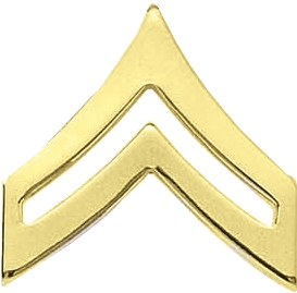 Blackinton Military Corporal Chevron