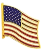 Blackinton American Flag Pin, Gold
