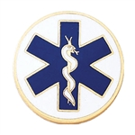 Blackinton Star of Life Collar Insignia