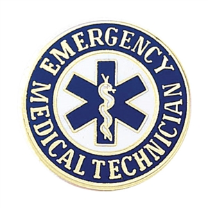 Blackinton Emergency Medical Technician Lapel Pin