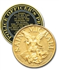 Blackinton Saint Michael Officer's Prayer Challenge Coin