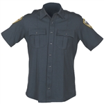 Blauer Zippered BIComponent Short Sleeve Shirt