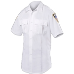 Blauer Women's Short Sleeve Cotton Blend Shirt