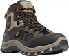 "Danner Men's TrailTrek 4.5"" Brown/Orange Hiking Boots"