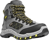 "Danner Men's TrailTrek 4.5"" Gray/Yellow Hiking Boots"
