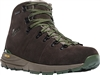 "Danner Mountain 600 4.5"" Dark Brown/Green Hiking Boots"