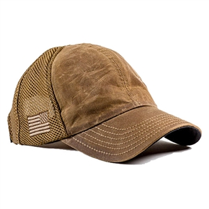 Nine Line Mesh Back Hat With Drop Line