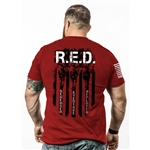Nine Line - Red Remember Everyone Deployed T-Shirt