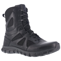 "Reebok Sublite Cushion 8"" Waterproof Side Zip Tactical Boot Women's"