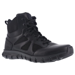 "Reebok Sublite Cushion 6"" Side Zip Tactical Boot"