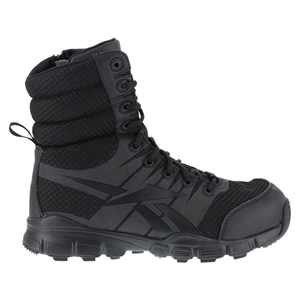 "Reebok Dauntless Ultra-Light 8"" Side Zip Tactical Boot"
