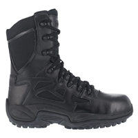 "Reebok Rapid Response RB Stealth 8"" Side Zip Boot"