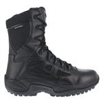 "Reebok Rapid Response 8"" Waterproof  Side Zip Boot"