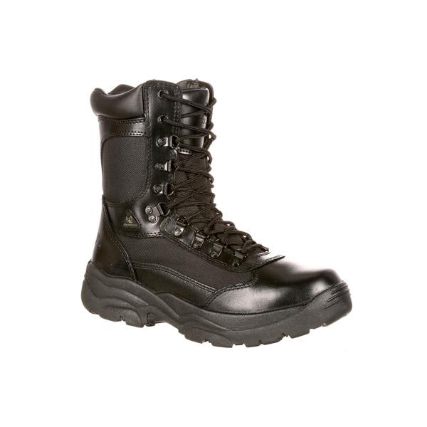 b53e43c2067 Rocky Fort Hood Side Zip Waterproof Duty Boot