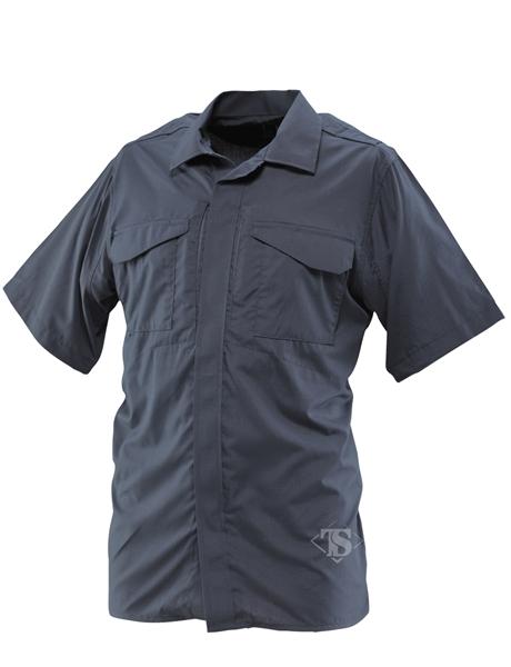Tru-Spec 1047 Ultralight Tactical Uniform Shirt Navy Blue Short Sleeve