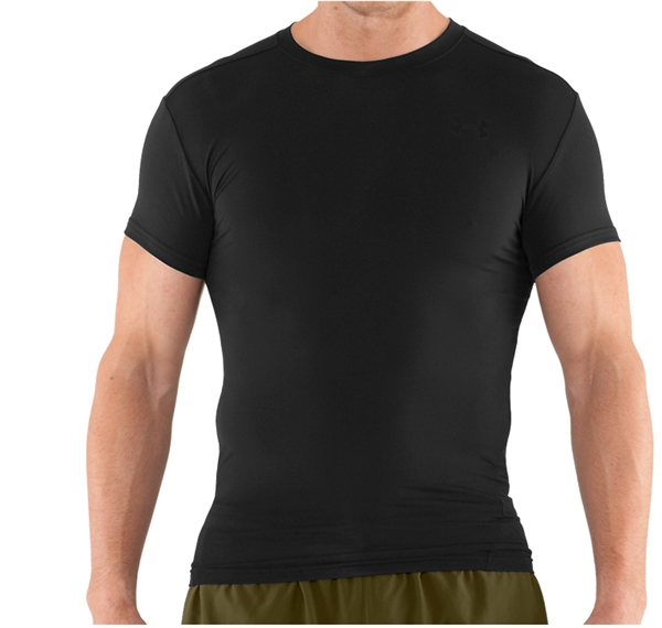 e5aed243b950 Under Armour Men's Tactical HeatGear Crewneck Compression Shirt