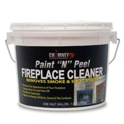 ChimneyRX Paint n Peel Fireplace Cleaner