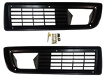 1979 - 1981 Firebird and Trans Am Front Nose Bumper Cover Grille Insert Set, LH and RH