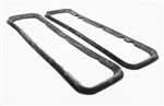 1967 - 1968 Camaro Tail Light Lens Gaskets - OE Style - Molded Rubber