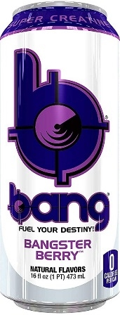 Bang Bangster Berry Super Creatine Beverage 12/473ml Sugg Ret $4.79