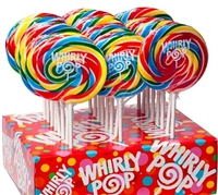 Curly Swirly Pop Display 24/100g Sugg Ret $2.29