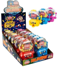 Dubble Bubble Jackpot Gumball machine 12/ Sugg Ret $4.59