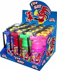 Fire Blast Spray Candy 16/55ml Sugg Ret $2.69