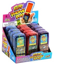 Flip Phone With Candy 12/ Sugg Ret $ 2.59