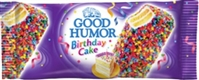 Good Humor  Bar Birthday Cake Dessert Bar 24/113g Sugg Ret $3.89