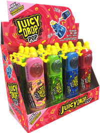 Juicy Drop Pop Stand Up Box 12/26g Sugg Ret $3.39
