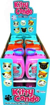 Kitty Condo Collectable Kittens & Candy 12/8g Sugg Ret $2.69