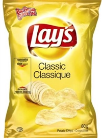 Lay's 60g Classic Potato Chip 32's Sugg Ret $1.50