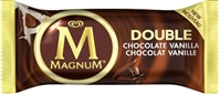 Magnum Double Chocolate Vanilla Ice Cream Bar 12/90ml Sugg Ret $4.99