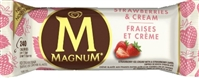 Magnum Strawberries & Cream Ice Cream Bar 12/90ml Sugg Ret $4.99