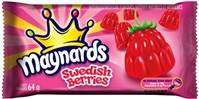 Maynards Swedish Berries 18/64g Sugg Ret $1.59
