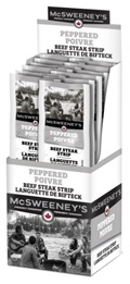 McSweeney's 28g Peppered Beef Steaks 12/ Sugg Ret $3.19