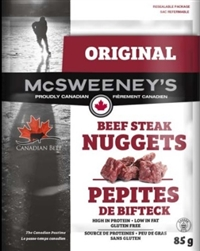 McSweeney's 85g Original Nuggets Beef Steak 12/ Sugg Ret $7.89***Promo Retail 2 for $11.00***