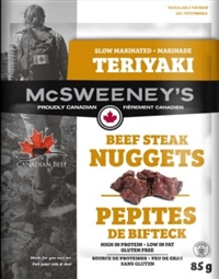 McSweeney's 85g Teriyaki Nuggets Beef Steak 12/ Sugg Ret $7.89***Promo Retail 2 for $11.00***