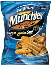 Munchies 47g Snack Mix 40's Sugg Ret $1.50