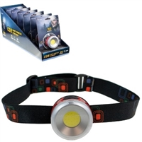 Olympia Super Bright LED Headlamp 160 Lumens 6 unit Display Sugg Ret $9.99