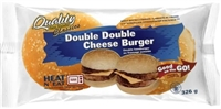 Quality Double Double Cheeseburger 1/326g Sugg Ret $9.79