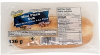 Quality Mini Pizza Sub 1/136g Sugg Ret $5.79